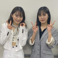 森戸知沙希のバースデーイベントに、カントリー・ガールズを卒業した小関舞がゲスト出演!